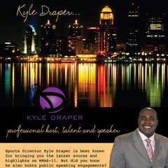 Kyle Draper: Sportscaster